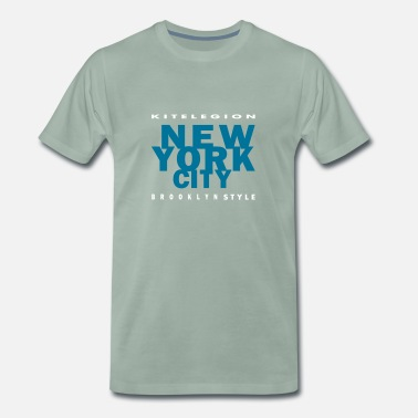 Frejus brooklyn_style_new_york_city_vec_2fr - T-shirt Premium Homme