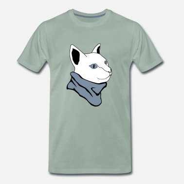 Chilli Jokes chilly cat / chilly cat - Men's Premium T-Shirt
