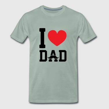 I love dad - Men's Premium T-Shirt