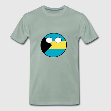 Countryball Country Ball Country Home Bahamas - Men's Premium T-Shirt