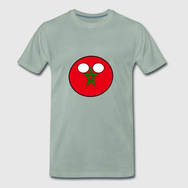 Countryball Country Homeland Morocco - Men's Premium T-Shirt