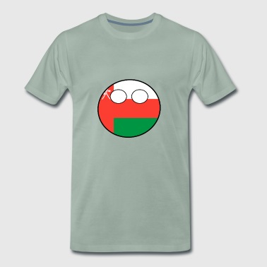 Countryball Country Home Oman - Men's Premium T-Shirt