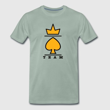 Cardistry KingSpade® Collection by MagicAndCardistry Team - Men's Premium T-Shirt