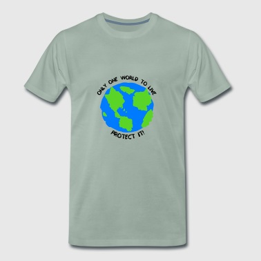 One World - Männer Premium T-Shirt