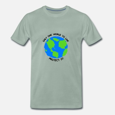 One World One World - Männer Premium T-Shirt
