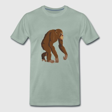 Chimpanzee - Men's Premium T-Shirt