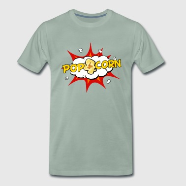 Popcorn Pop Art - Men's Premium T-Shirt
