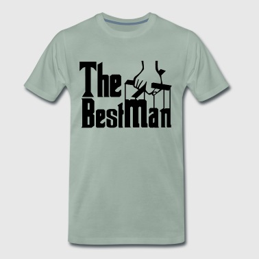 The Best Man. Stag Night. Stag Party. Bestseller. - Men's Premium T-Shirt