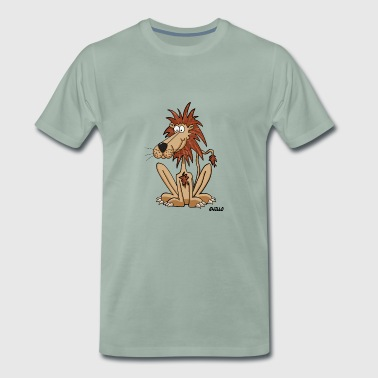 Enillo Cartoon Loewe - Männer Premium T-Shirt