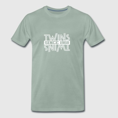 Twins Since 1968 - Men's Premium T-Shirt