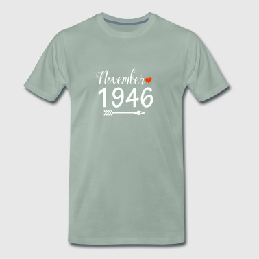 November 1946 - Herre premium T-shirt