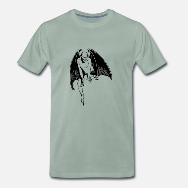 Devil Female devil - Men's Premium T-Shirt