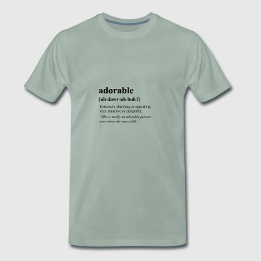 adorable - Men's Premium T-Shirt