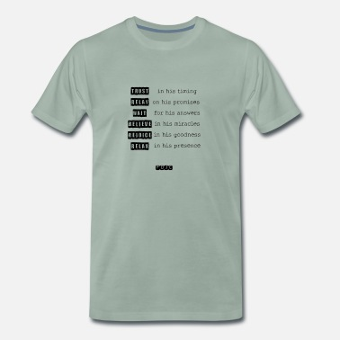 Konfirmation In Him - Männer Premium T-Shirt