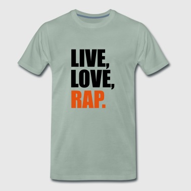2541614 14562687 rap - Premium T-skjorte for menn