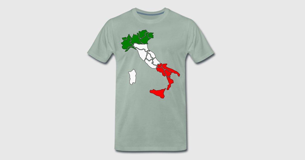 ITALIEN ITALIA ITALIENISCH GESCHENK T-SHIRT von PositiveHuman ...