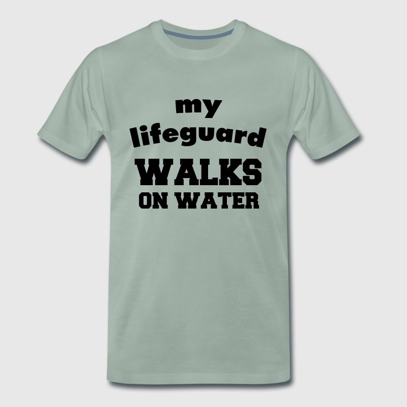 e33189c9d90 My lifeguard walks on water by Fede2.0