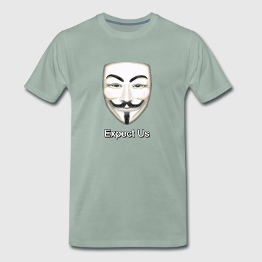 Guy Fawkes - Premium T-skjorte for menn