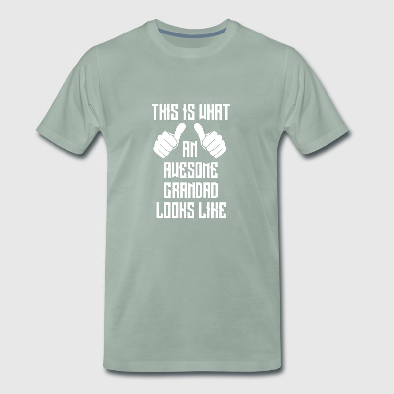 Awesome grandad - Men's Premium T-Shirt