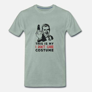 Care This is my I don t care costume - Men's Premium T-Shirt