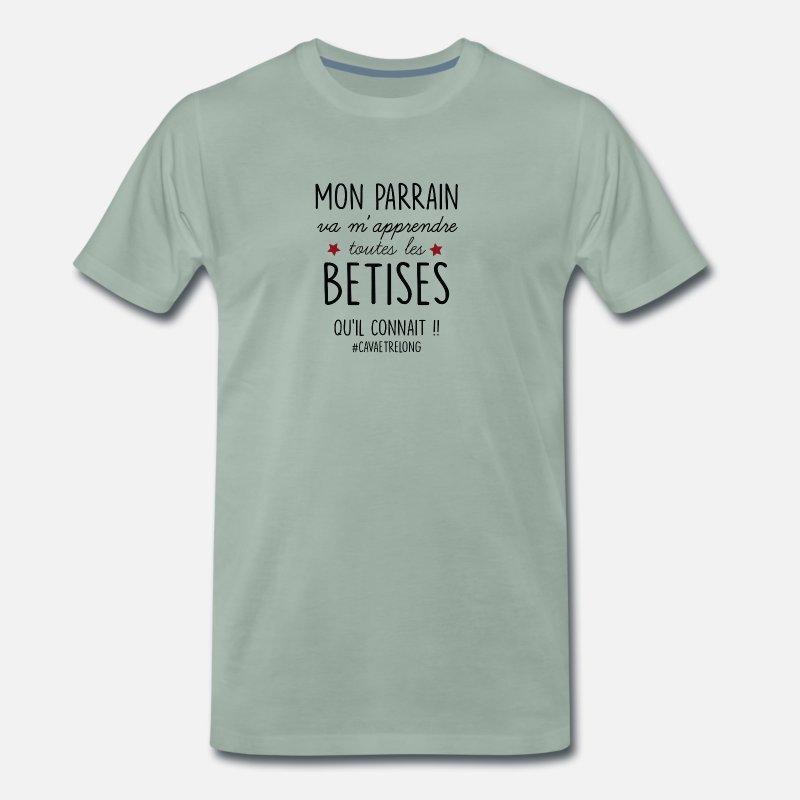 84eab4105cfc8 T-shirts Parrain à commander en ligne   Spreadshirt