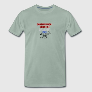 scientifique en conservation - T-shirt Premium Homme