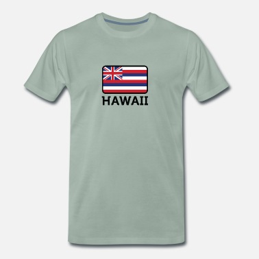 Hawaii National Flag Of Hawaii - Herre premium T-shirt