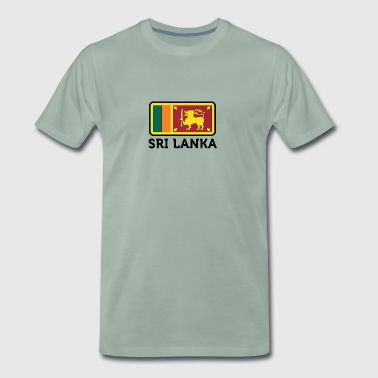 Sri National Flag Of Sri Lanka - Men's Premium T-Shirt
