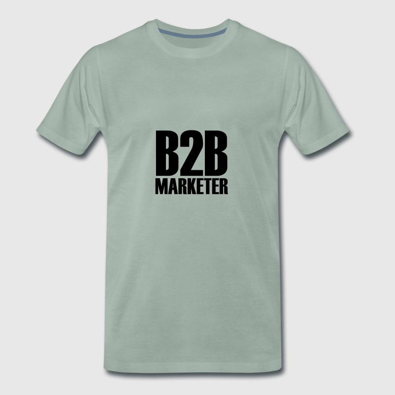 B2B - Marketer - The business professional in Marketing - Men's Premium T-Shirt