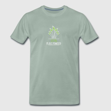 Powered By Plants 100% Plant Powered - Men's Premium T-Shirt