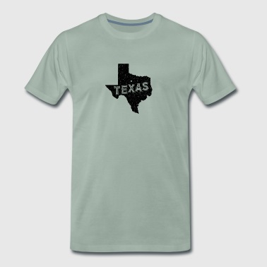 Texas Vintage Motto og Nick - Premium T-skjorte for menn