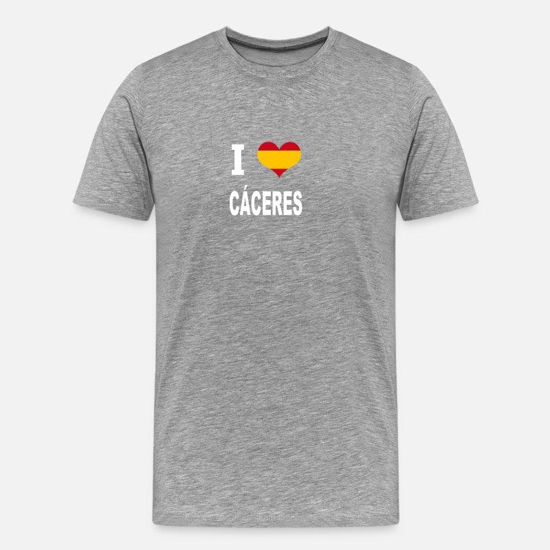 Ik Houd Van Spanje Ca Ceres Mannen Premium T Shirt Spreadshirt