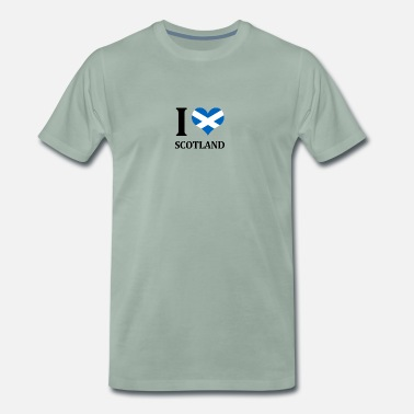 I Love Scotland I love Scotland - Men's Premium T-Shirt