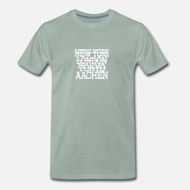 3c9f3dab46c8 Aachen städte aachen stadt heimat heimatstadt reise - Männer Premium T-Shirt