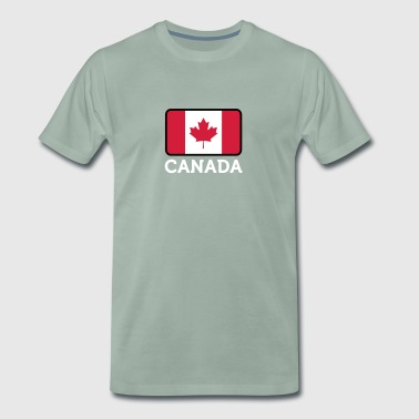 National Flag Of Canada - Herre premium T-shirt