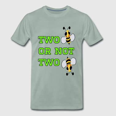 to bee or not to bee - Fleeting Bee - Men's Premium T-Shirt