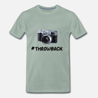 Film Kamera Throwback Film Kamera - Männer Premium T-Shirt