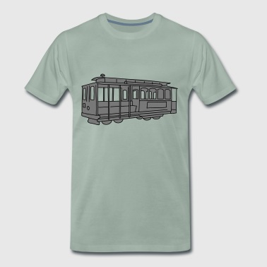 San Francisco Cable Car 2 - Men's Premium T-Shirt
