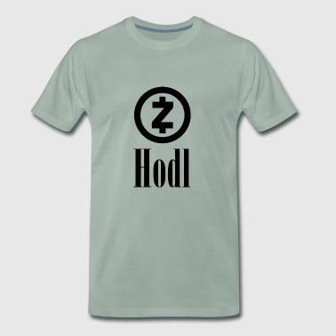 HODL ZCash Crypto currency | Crypto currency - Men's Premium T-Shirt