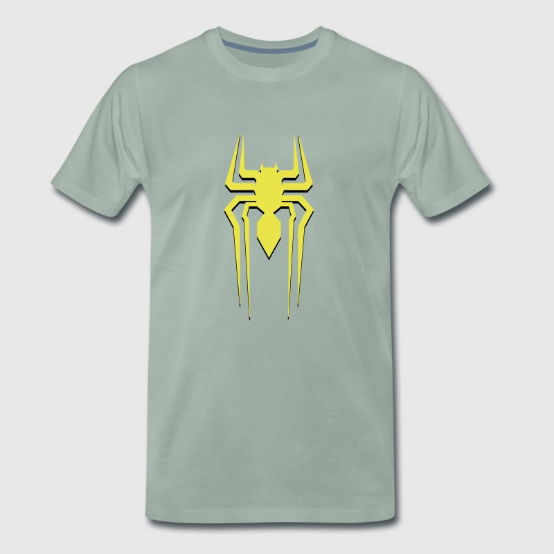 spiderman geel - Mannen Premium T-shirt