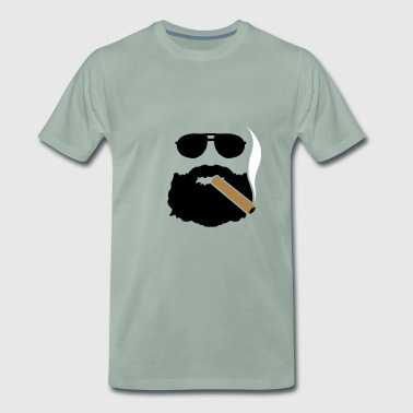 Cigar BARBU - Premium-T-shirt herr