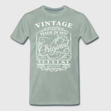Vintage Made in 1937 Original - Men's Premium T-Shirt