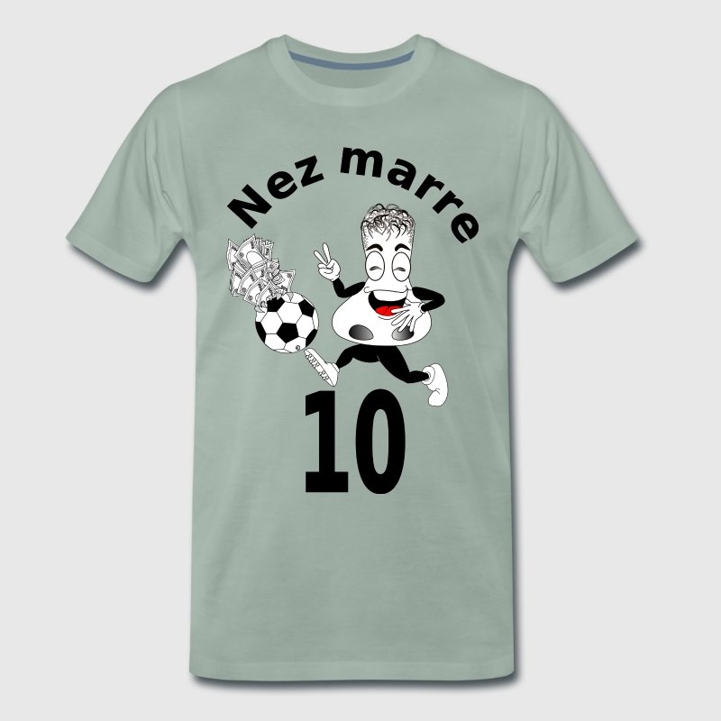Nez marre football humour FC - T-shirt Premium Homme