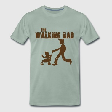 DAD LOPEND - Mannen Premium T-shirt