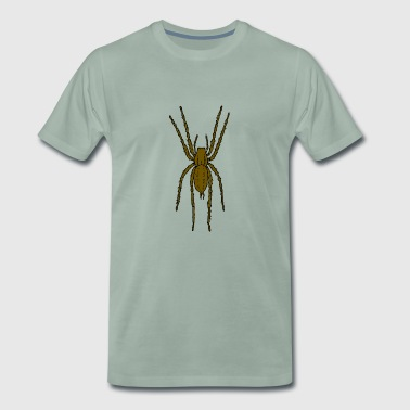 Brown spider - T-shirt Premium Homme