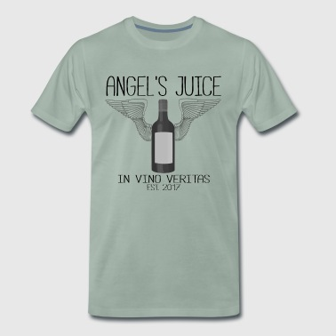 ANGEL S JUICE - in vino veritas - Männer Premium T-Shirt