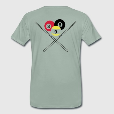 billiard queue - Men's Premium T-Shirt