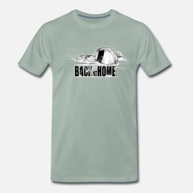 Back at home - Men's Premium T-Shirt