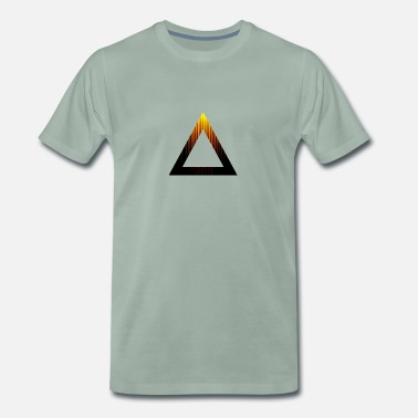 Abstract Abstract Triangle - Men's Premium T-Shirt