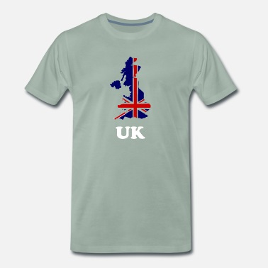 Belfast Northern Ireland uk banner outline gift tee shirt - Men's Premium T-Shirt